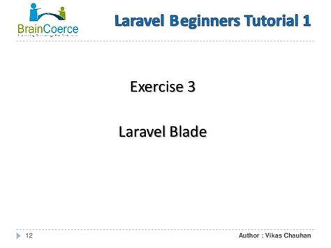 tutorial laravel blade laravel beginners tutorial 1