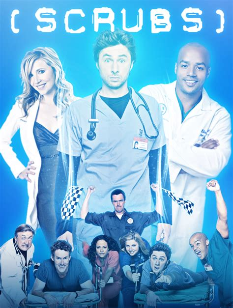 scrubs posters tv series all poster