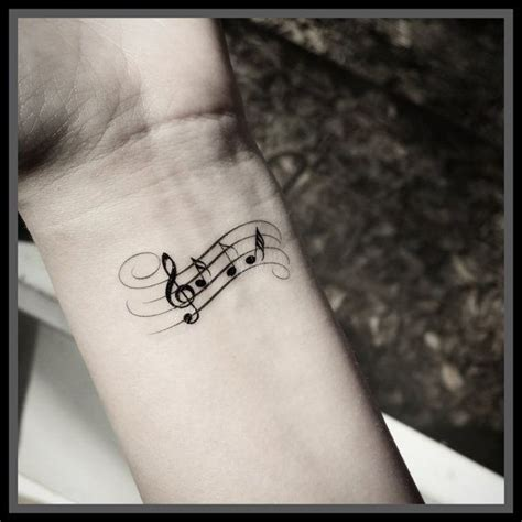 music note tattoo temporary tattoos music tattoos note