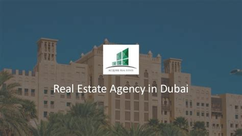 Mba In Real Estate Management In Dubai by Luxury Real Estate Agency In Dubai