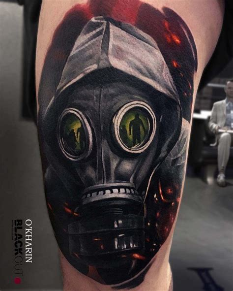 100 gas mask tattoos for best 25 gas mask ideas on mask