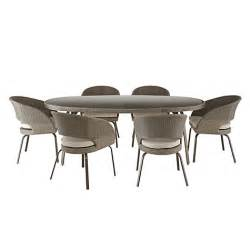 buy john lewis corsica 6 seater round outdoor dining table