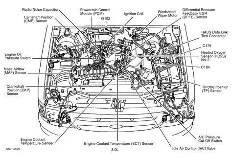 ford 3 0 v6 engine diagram egr wiring diagram