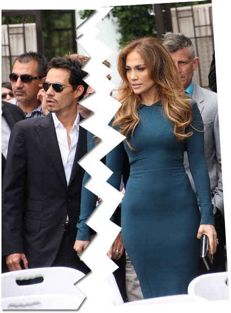 J Lo Marc Ew by And Marc Anthony Call It Quits