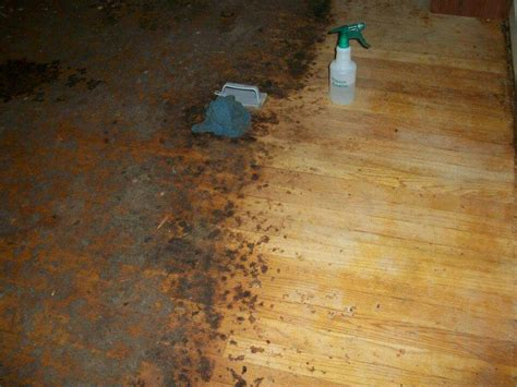 how to clean old hardwood floors to remove years worth of carpet glue and ground in dirt on
