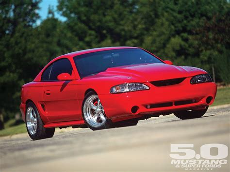 custom 96 mustang gt 1996 ford mustang gt terminated four valve sn 95 photo