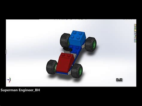 solidworks tutorial toy car toy car on solidworks with music youtube