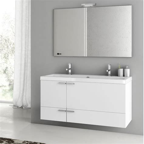 47 inch bathtub modern 47 inch bathroom vanity set with ceramic sink