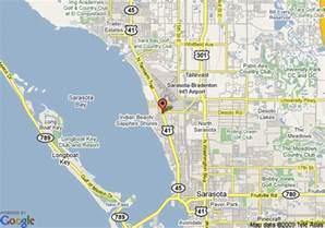 Map Sarasota Florida by Map Of Sarasota Knights Inn Sarasota