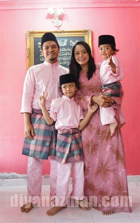 baju raya 2014 keluarga baju raya utk keluarga 2014 baju raya kaler pink keluarga