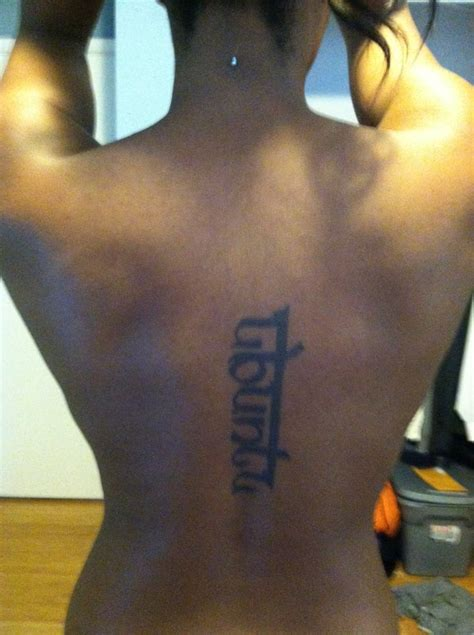 tattoo removal south africa quot ubuntu quot south proverb meaning quot i am because we