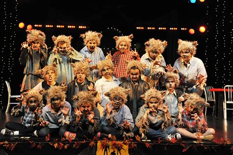 children s musicals we are monsters quot roars quot at the lyric theatre in oklahoma photos