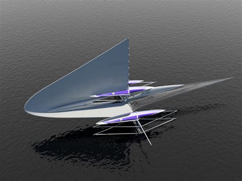 trimaran fund fresnel trimaran yacht from above yacht charter
