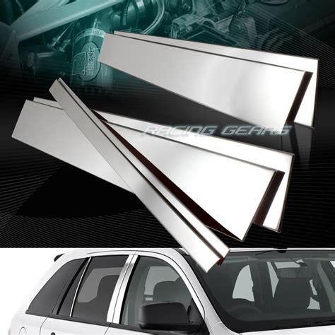 All New Innova Mirror Pillar Cover Chrome Aksesoris Toyota Innova for lincoln mkx ford edge stainless mirror chrome door pillar post cover 6 pcs ebay