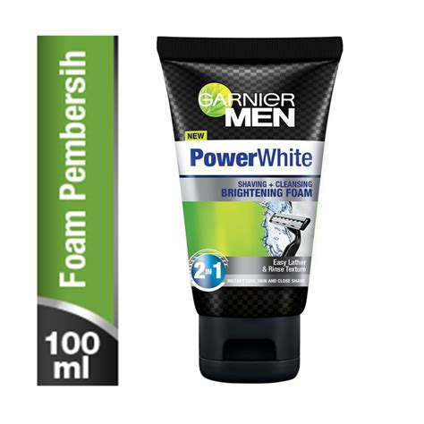 Krim Wajah Garnier White jual garnier power white foam sabun wajah 100 ml