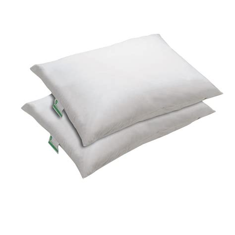 bed bug protection biopedic classic contour memory foam bed pillows 2 pack