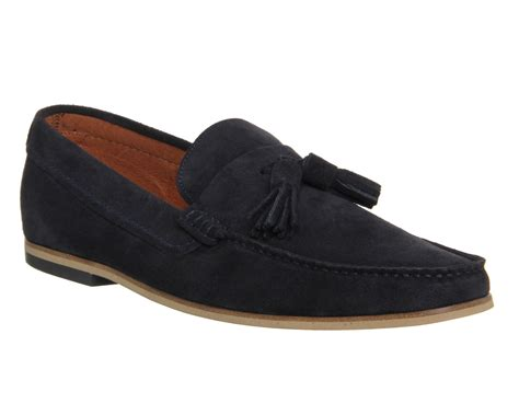 ask the missus loafers ask the missus approval loafers navy suede 791annu00620
