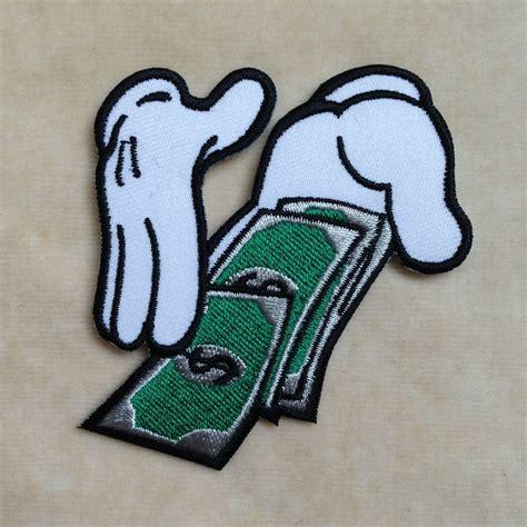 iron on money embroidery iron on patch badge ebay