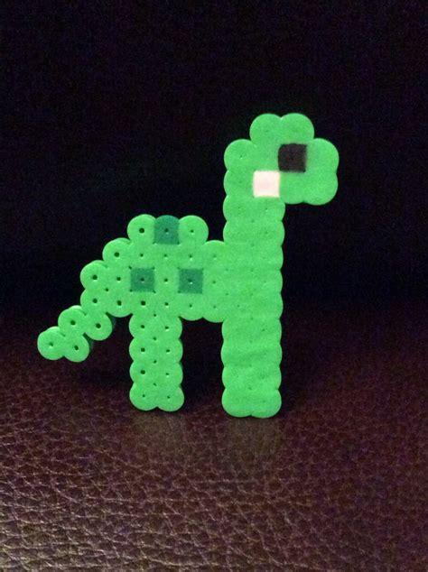 Kawaii Dinosaur Perler By Milotic6312 On Deviantart