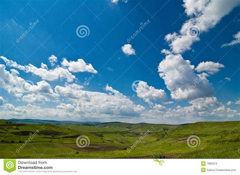 Renewing Green Card With Criminal Record Background Landscape With Green And Sky Stock Photos Image 7882513