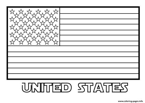 printable flag of us american flag united states coloring pages printable