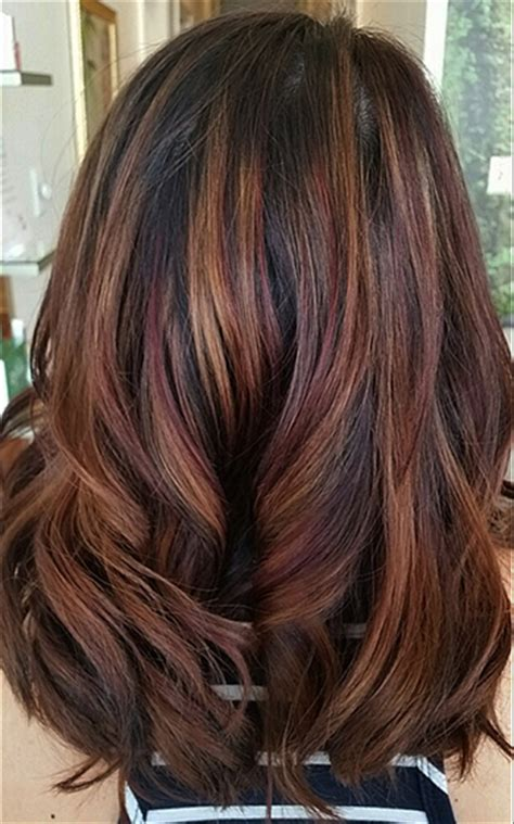 hair colors for fall cafe au lait hair color hairstylegalleries