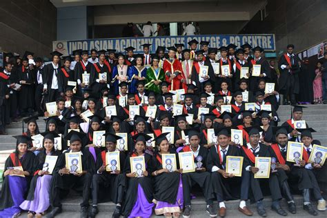 Indo Asian Academy Mba by The Eight Graduation Day Ceremony Of The Ug Students