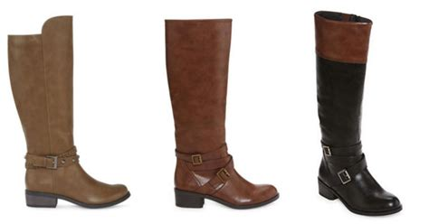 jcpenney women s boots as low as 18 74 each