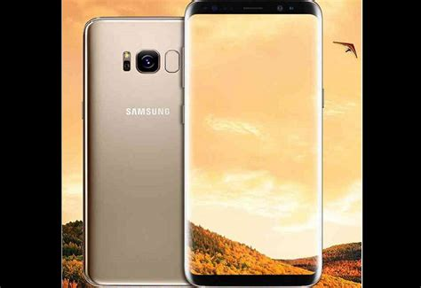 Samsung S8 Gold Second samsung galaxy s8 gold 5 8 inch 64gb pc link computers