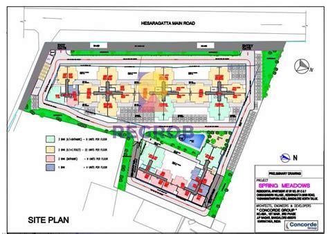 garden state plaza floor plan concorde spring meadows hasserghatta bangalore price