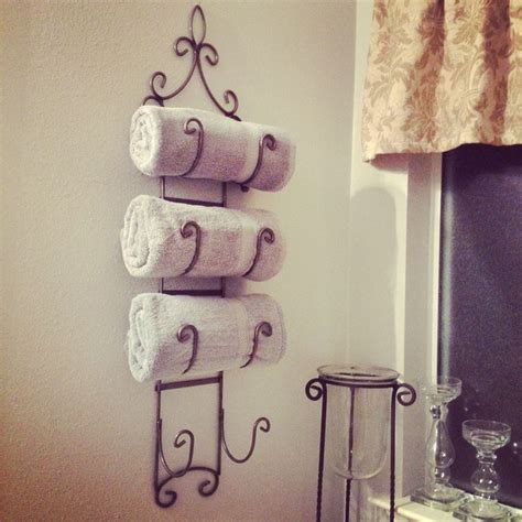 Wine Rack For Towels by Wine Rack Towel Holder Yardsale Find 3 Master Bath