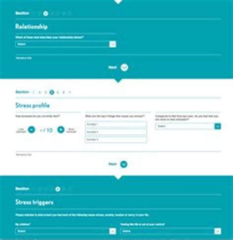form layout design inspiration forms tell me a story ui design inspiration pinterest