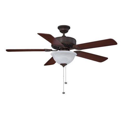 Flush Mount Ceiling Fan Light Shop Litex 52 In Antique Bronze Downrod Or Flush Mount Ceiling Fan With Light Kit At Lowes