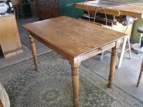 how to taper 4x4 table legs oak farm dining table osborne wood