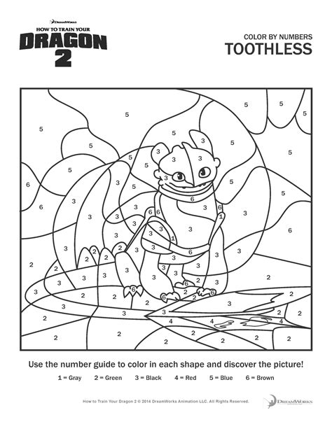 How To Train Your Dragon 2 Coloring Pages And Activity Sheets Print Activities For