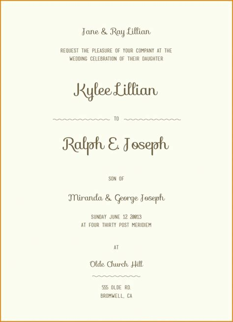 wedding invitation from groom s wedding invitation wording exles and groom inviting akaewn