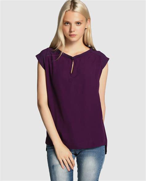 blusas modelo 2016 blusas bonitas 187 blusas moradas 2016 5