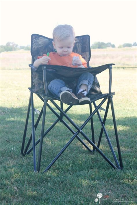 Camo Portable High Chair by Ciao Baby The Portable High Chair