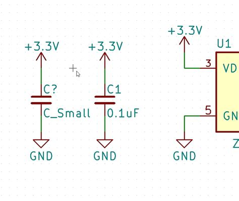 a capacitor c is connected to a power supply that operates beginner s guide to kicad learn sparkfun
