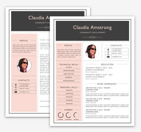 pink resume paper print the cutest printable designs luvly