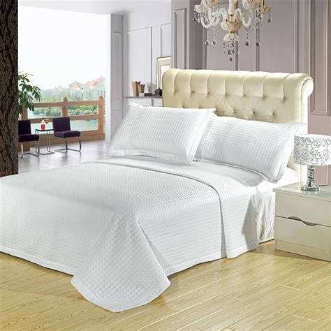 luxury coverlets luxury checkered quilted wrinkle free microfiber 3 piece