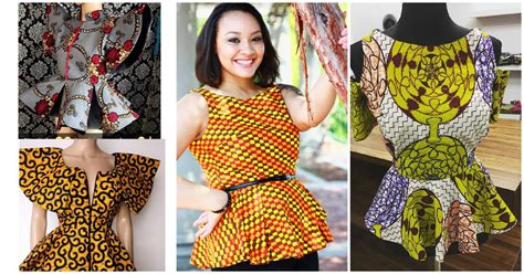 ankara peplum tops styles beautiful ankara peplum tops for a beautiful weekend