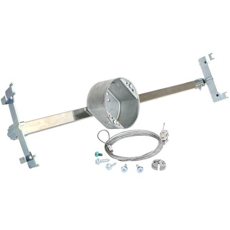 fan brace and box for suspended ceiling commercial electric 21 5 cu in suspended ceiling brace