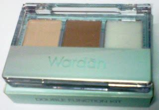 Bedak Wardah Waterproof titin septiani make up series wardah