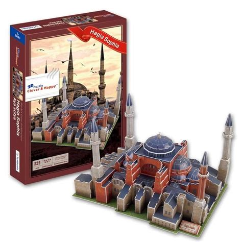 mao puzzle block sopia top world buildings jigsaw model 3d puzzle turkey