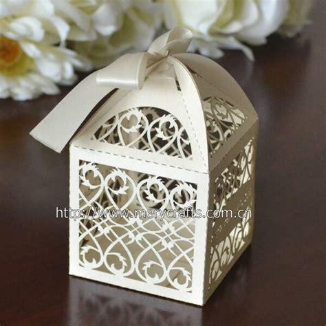 laser cut filigree wedding favors  gifts box