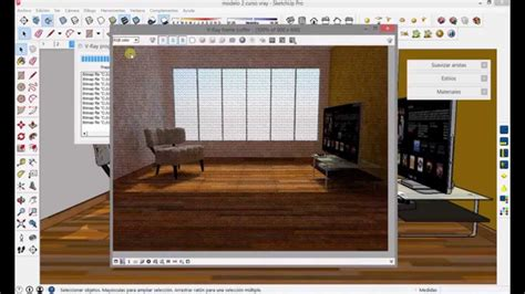 tutorial cesped vray sketchup tutorial vray sketchup parte 4 render interior 3825 on