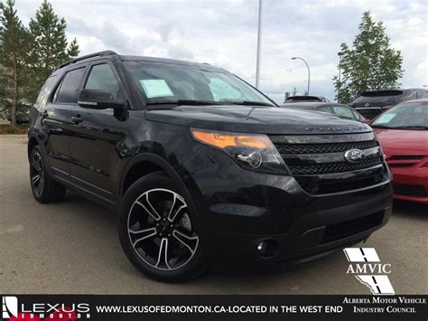 Ford 2015 Explorer by Used 2015 Black Ford Explorer 4wd Sport In Depth Review