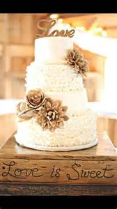 country chic wedding shower cakes 25 best ideas about rustic wedding cakes on