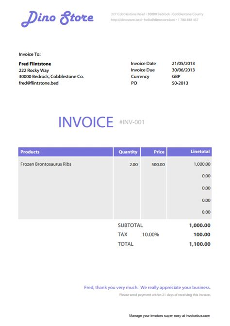 free editable invoice template pdf best photos of free invoices templates pdf downloads